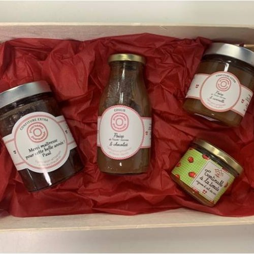 Les Cols Rouges & Prom'nades Gourmandes-ma-confiture-personnalisee