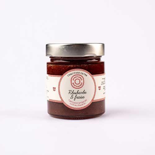 confitures-250g---Rhubarbe-et-fraise