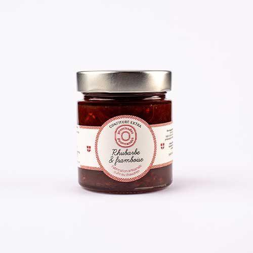 confitures-250g---Rhubarbe-et-framboise