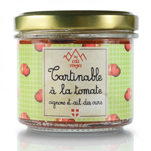 Tartinable à la tomate, oignons et ail des ours